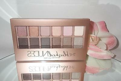 the blushed nudes eyeshadow palette 9 6g