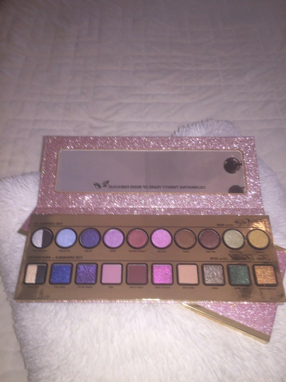 then and now eyeshadow palette cheers to