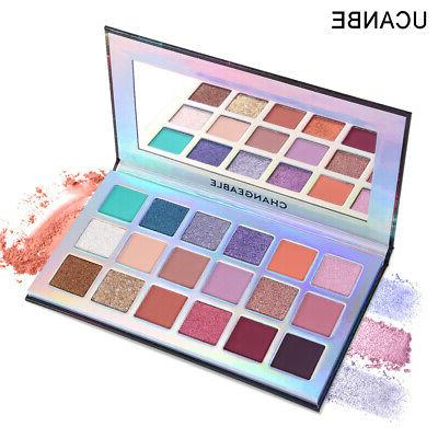 UCANBE Shimmer Textured Eyeshadow Palette US