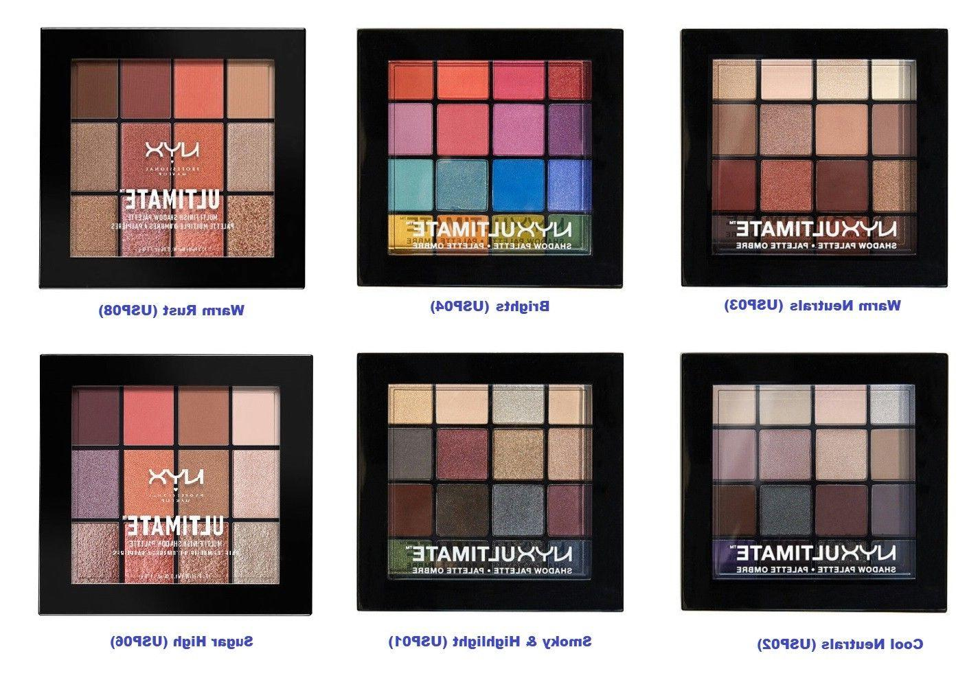 ultimate multi finish eye shadow palettes select