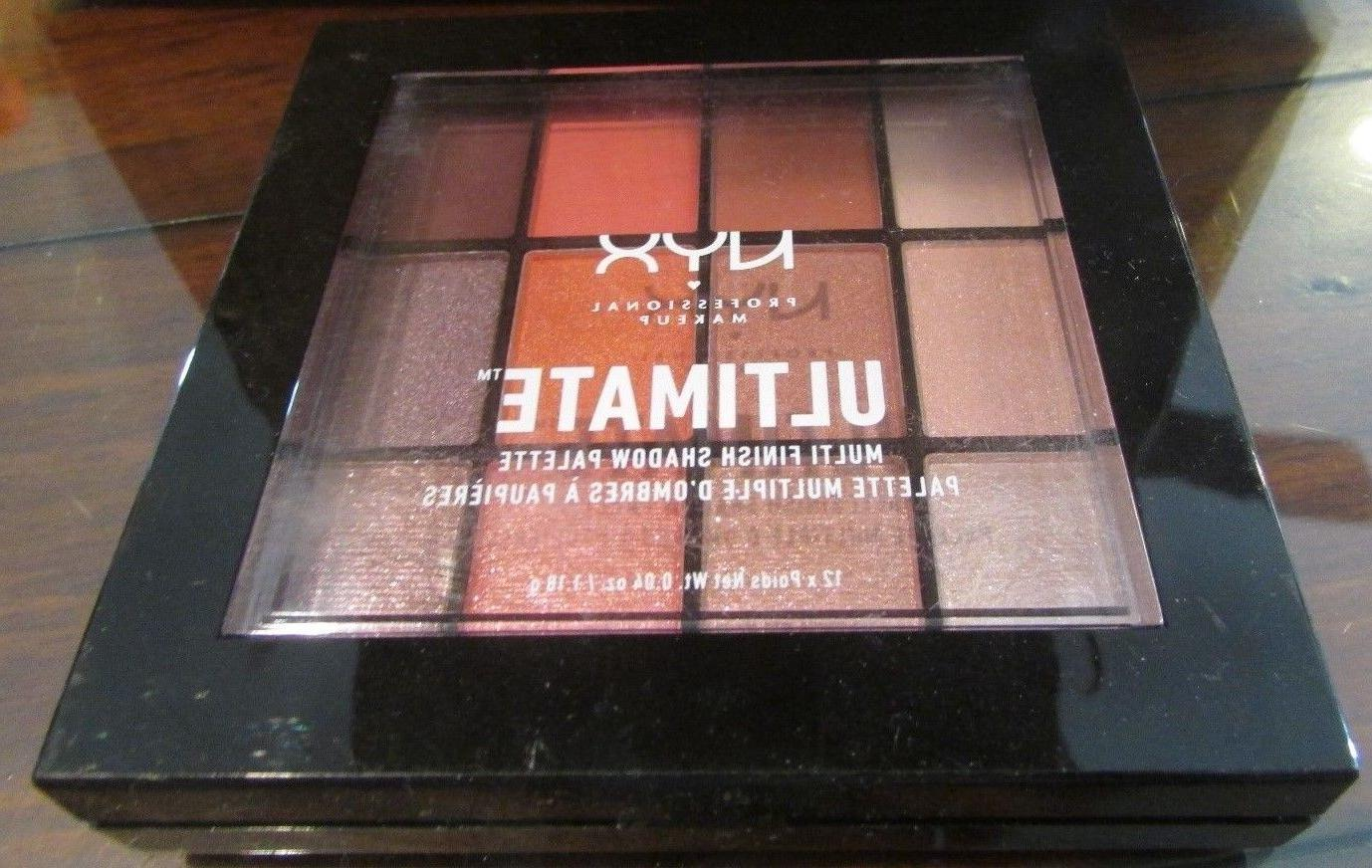 NYX Ultimate Multi Finish Shadow Palette USP06 Sugar High Br