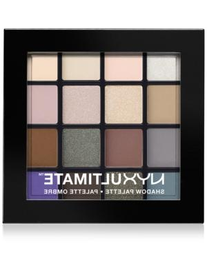 Nyx Professional Makeup Ultimate Shadow Palette, Cool Neutra