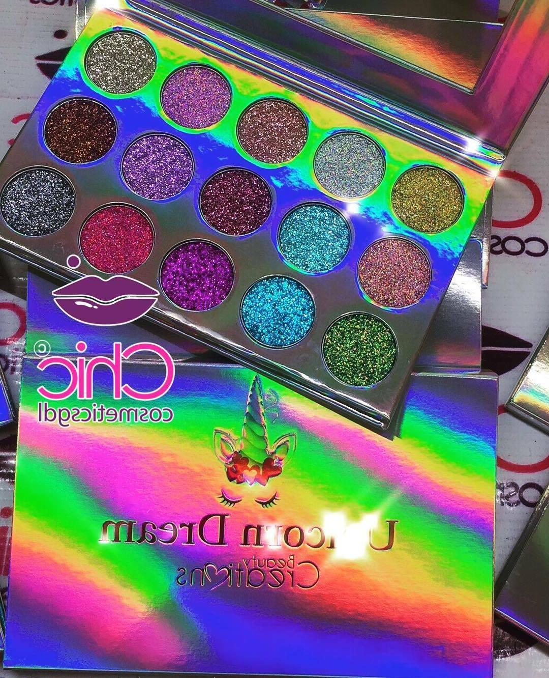 BEAUTY CREATIONS UNICORN Palettes Eyeshadow Glitters 15 shades