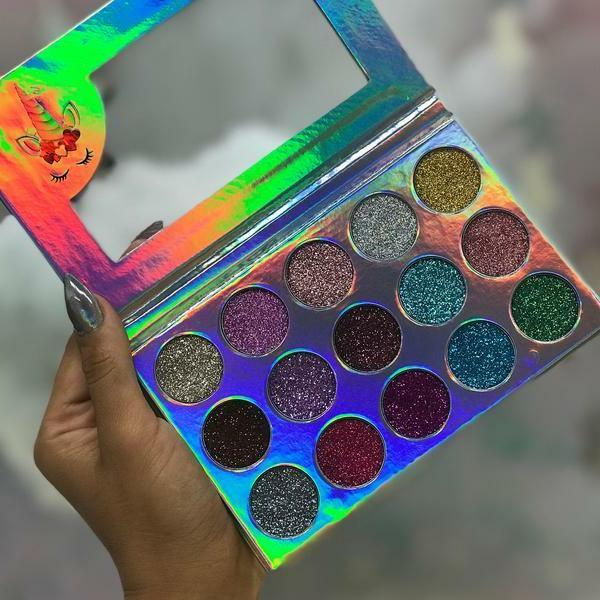 BEAUTY Palettes Eyeshadow Glitters shades