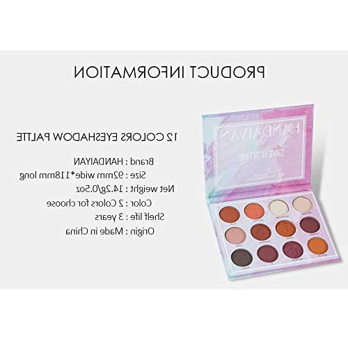 US Eye Shadow, Colors Eyeshadow Palette Face Eye Pigmented