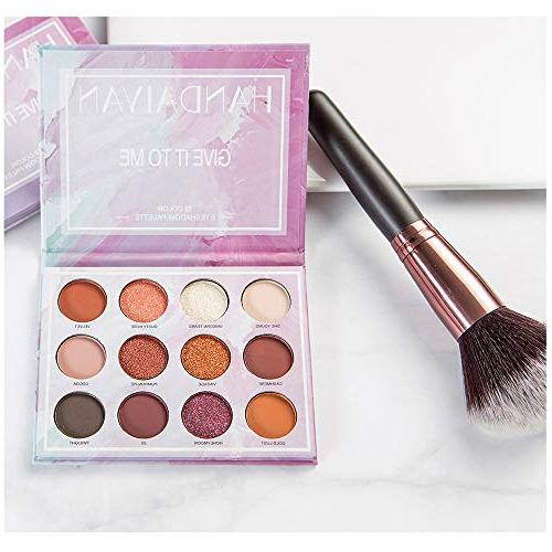 US Fast Shippment Clearance Eye Shadow, Tuscom Colors Eyeshadow Palette Makeup, Face Matte Shimmer Pigmented Smoky Cosmetic