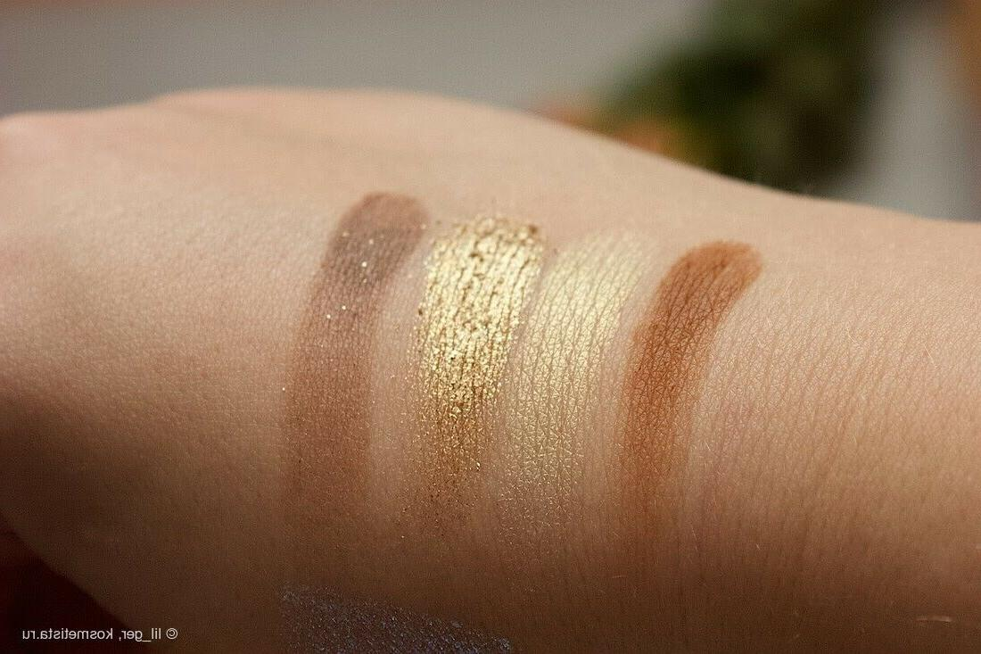 Lime Crime XS Solid Gold Eyeshadow 4 Shades NEW