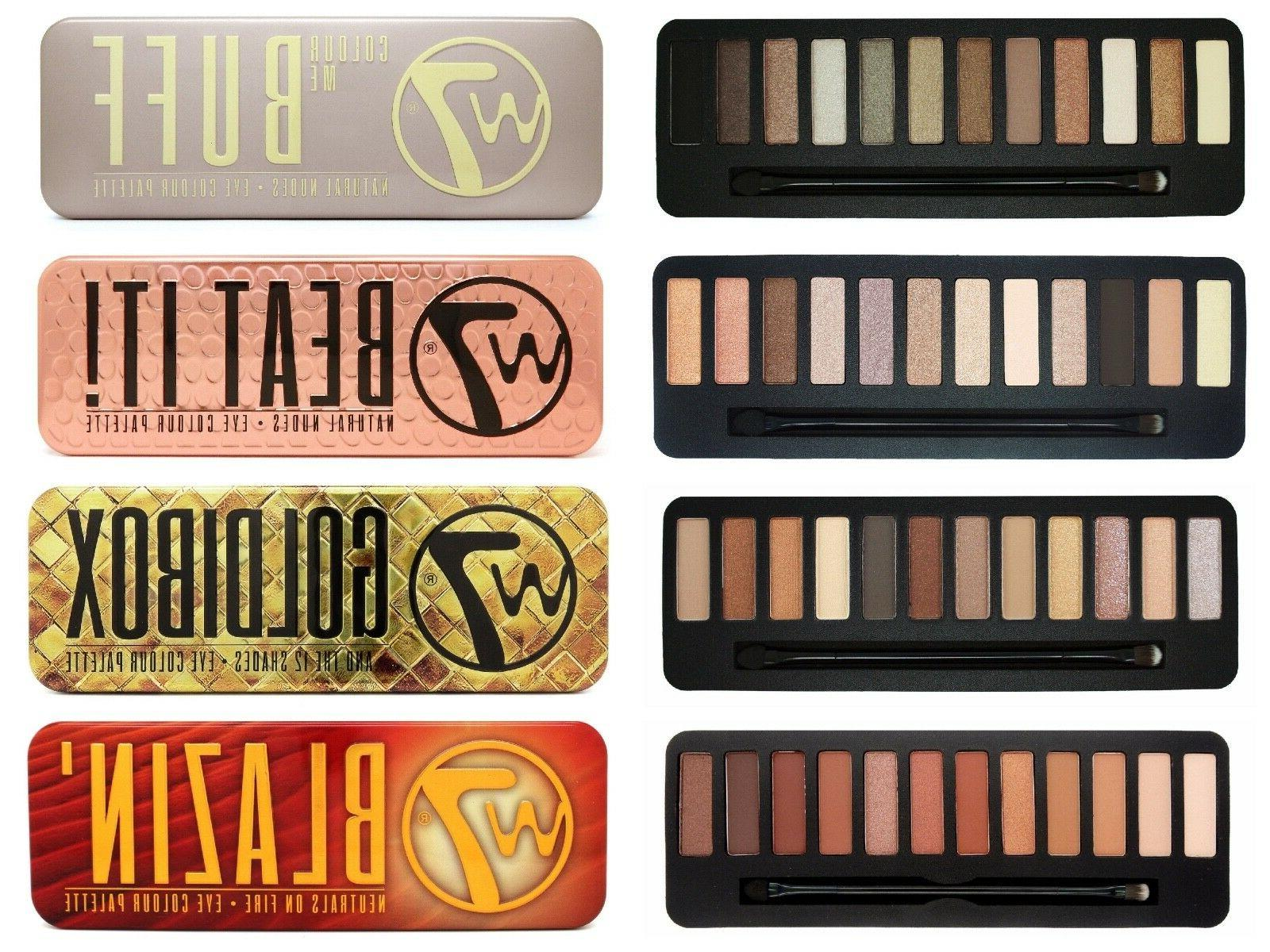 w7 eyeshadow palette palette eye shadow nude