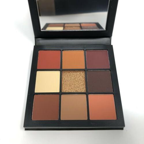 Huda Beauty Warm Brown Obsessions Full Size 10g New