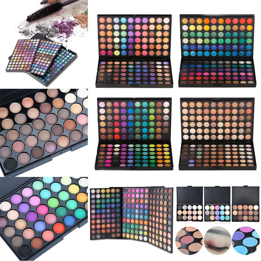 Women Makeup Beauty Matte Eye Shadow Palette Shimmer Glitter