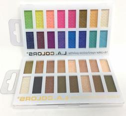 LA Colors 16 Color Eyeshadow Palette Haute & Sweet Palettes
