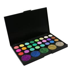 MagiDeal Lady Charming Shimmer Matte Eye Shadow Palette Make