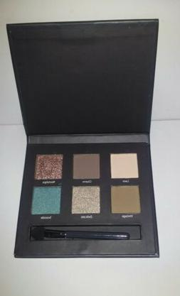 limited edition 6 pan eyeshadow palette matte