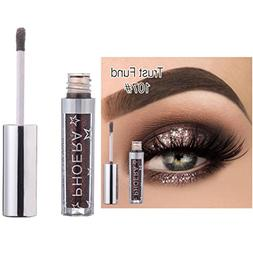 Liquid Eyeshadow Glitter Set, Gotd 12 Color 18ml Glitter Met