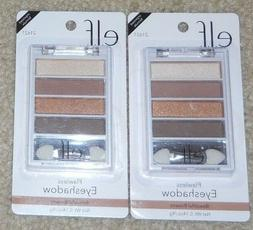 Lot of 2 e.l.f. Flawless Eye Shadow Palette *21621 Beautiful