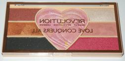 Makeup Revolution Love Conquers All Pigment+Highlight Palett