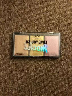NYX LOVE YOU SO MOCHI HIGHLIGHTING PALETTE/LIT LIFE - WARM T