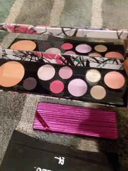 Mac makeup eyeshadow palette brand new no box just swatched