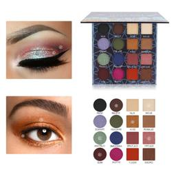 Magideal 16 Colors Eye shadow Palette Matte Shimmery Texture