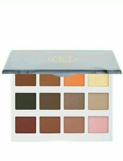 BH Cosmetics Marble Collection Warm Stone 12 Color Eyeshadow