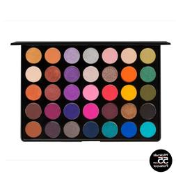 matte and shimmer eyeshadow palette 35 colors