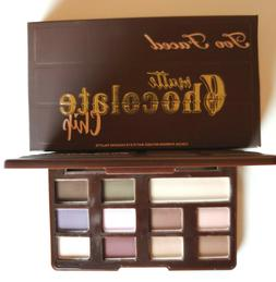 Too Faced MATTE BROWN Chocolate Chip Palette Full Size BNIB