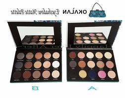 Matte Eyeshadow Palette -Okalan 15 Colors Natural Eye Shadow