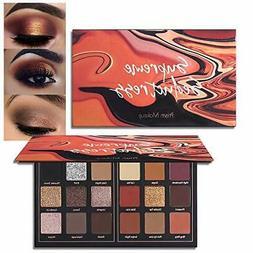 Matte Eyeshadow Palette Pro 18 Color Highly Pigmented Shimme