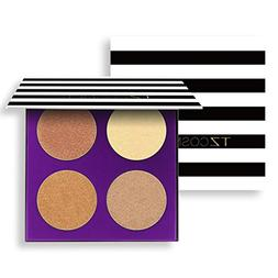 Hunzed Matte Eyeshadow, Women { 4 Color Eye Shadow Palette }