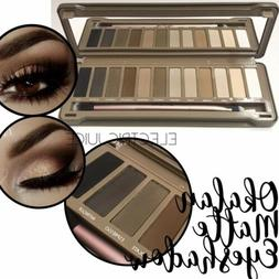 Matte Natural Colors Eyeshadow Palette- Okalan Neutral Color