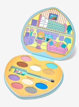 Mattel x Polly Pocket - 10 Shades Eyeshadow Palette - Brand