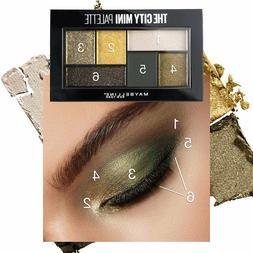 Maybelline City Mini Palette Eyeshadow, Urban Jungle