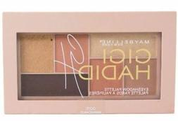 MAYBELLINE  Gigi Hadid Eyeshadow Palette, WARM, 0.14 oz