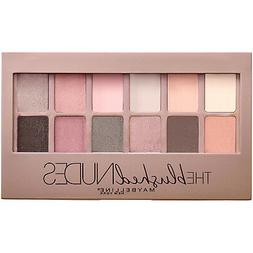 Maybelline The Blushed Nudes Eyeshadow Palette, , 0.34 oz.