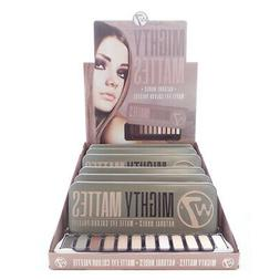 W7 Mighty Mattes Natural Nudes Matte Eye Colour Palette Disp