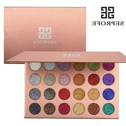 Eye shadow Mineral Pressed Glitter Palette Professional High