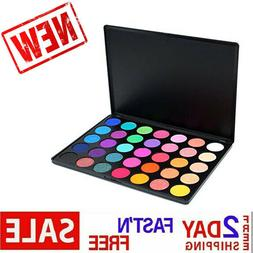 Morphe Pro 35 Color Eyeshadow Makeup Palette GLAM High Pigme