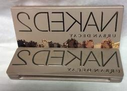 Urban Decay NAKED 2 Eyeshadow Palette New In Box. 100% Authe