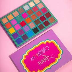 NEW ANNA Eyeshadow Palette Beauty Creations 35 Highly Pigmen