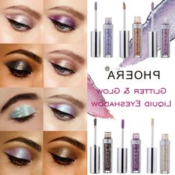 NEW Fashion 12 Color PHOERA Magnificent Metals Glitter and G