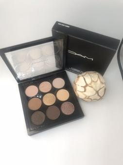 New In Box MAC-Amber Times Nine Eye Shadow Palette