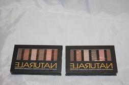 New Lot of 2 Naturale Essential Eye Shadow Make-Up Brown Pal