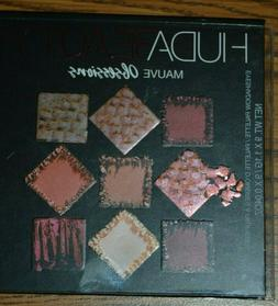 NEW HUDA BEAUTY Mauve OBSESSIONS eyeshadow palette AUTHENTIC