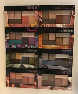 New Maybelline City Mini Eyeshadow Palette, Choose Your Shad