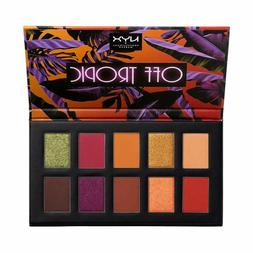 NEW NYX Off Tropic Eyeshadow Palette Shifting Sand 10 Color