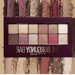 New Maybelline New York The Burgundy Bar Eye Shadow Palette