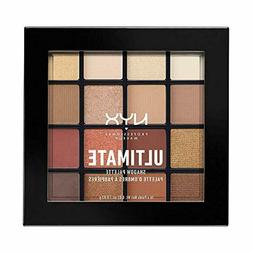 NYX PROFESSIONAL MAKEUP Ultimate Shadow Palette, Warm Neutra