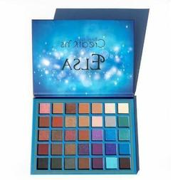 Original Beauty Creation 35Colors Elsa Eyeshadow Palette Gli