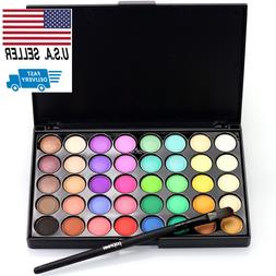 Eyeshadow Palette Makeup Eye Shadow Shimmer 40 Colors Matte