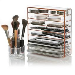 Palette and Makeup Organizer with Free Brush Holder
